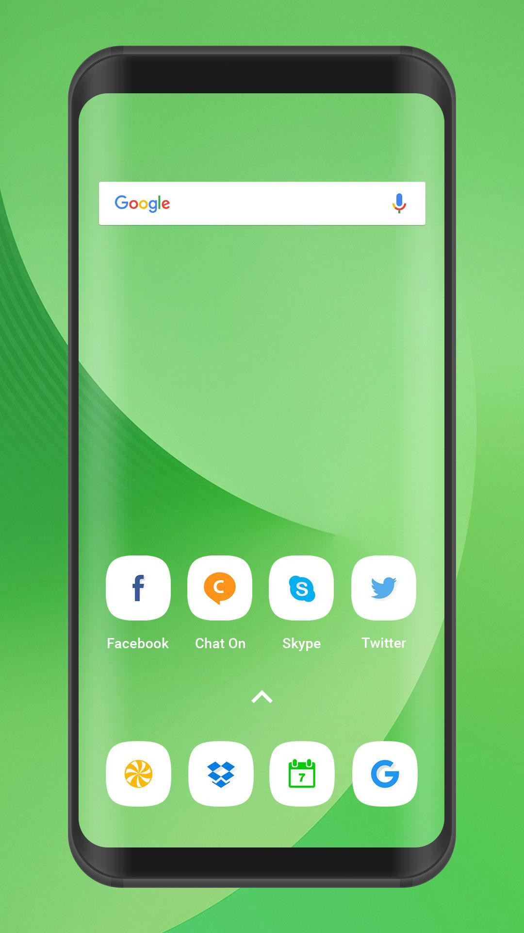 J8 2018 Launcher And Theme Free Live Wallpapers For