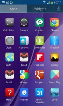S7 Theme and Launcher apk screenshot