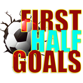 First Half Goals icon