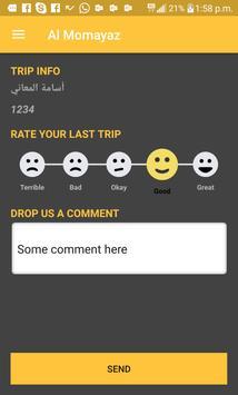 Taxi Al Moumayaz - تكسي المميز apk screenshot