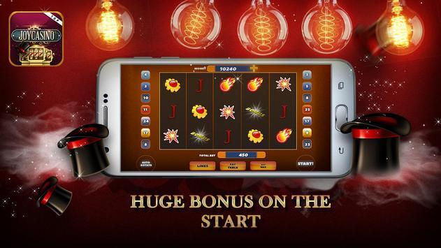 Joy Slot Machines poster