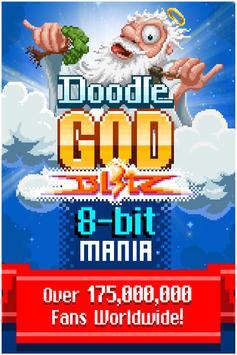 Doodle God: 8-bit Mania Free poster