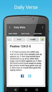 Daily Bible poster
