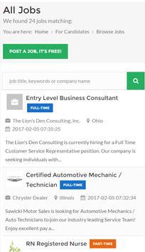 Job Search Career USA screenshot 5