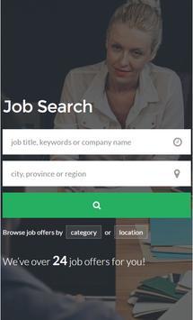 Job Search Career USA poster