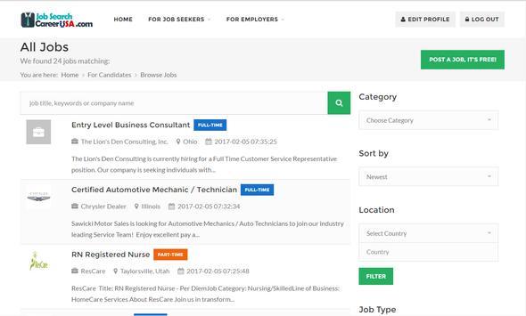 Job Search Career USA screenshot 10