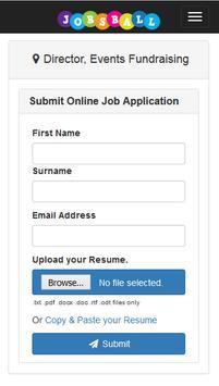 Jobsball Jobs screenshot 1