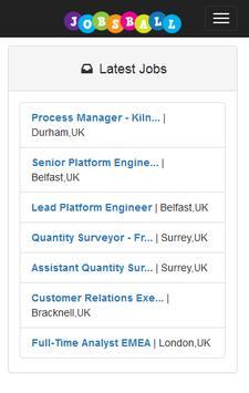 Jobsball Jobs screenshot 22