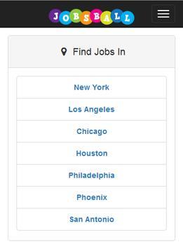 Jobsball Jobs screenshot 2