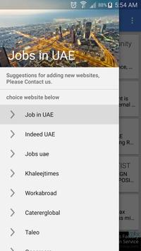 Job Vacancies In UAE - Dubai poster