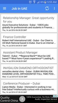 Job Vacancies In UAE - Dubai screenshot 1
