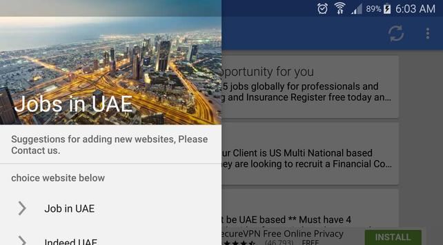 Job Vacancies In UAE - Dubai screenshot 5