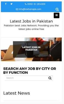 Jobs in Pakistan apk screenshot
