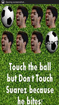 Dont Get Bit By Suarez poster