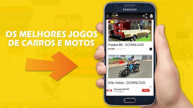 Jogos de Carros e Motos Android poster