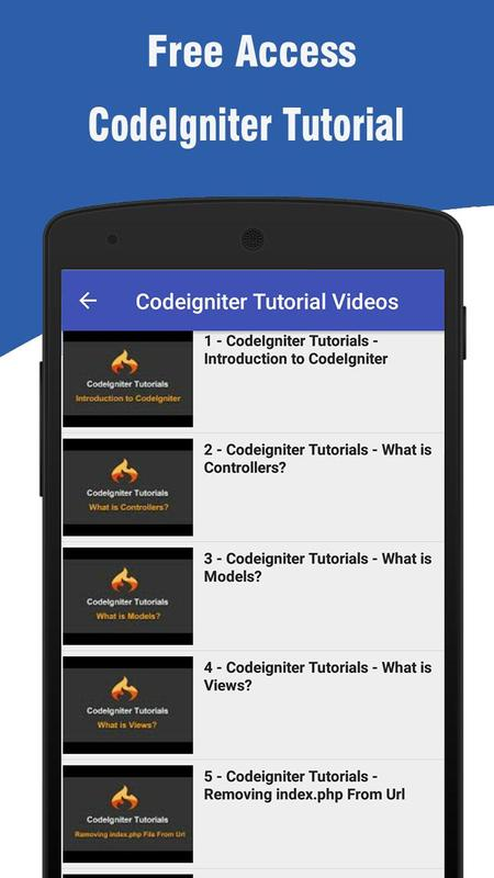 Codeigniter tutorial how to make rest api ( server and client ).