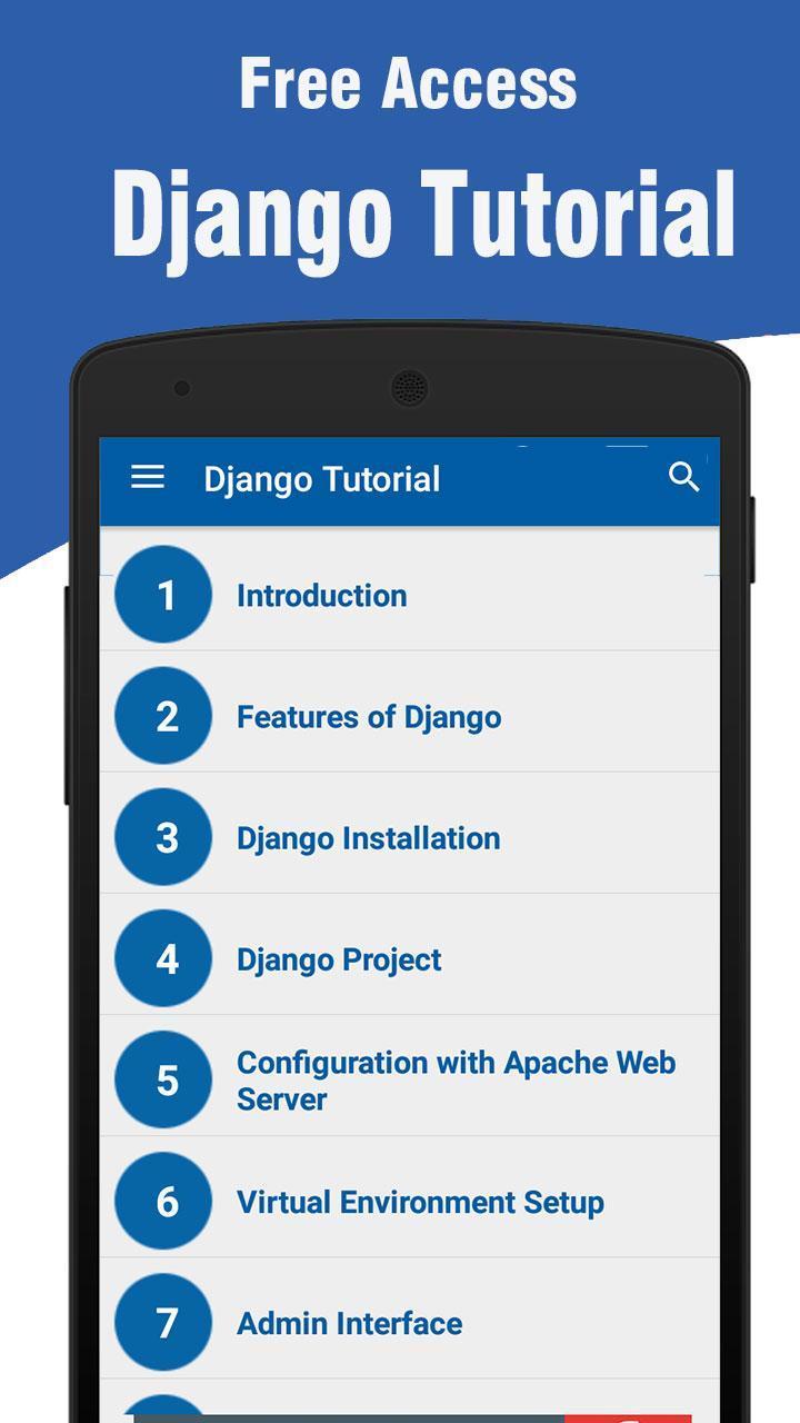 Django Tutorial for Android - APK Download