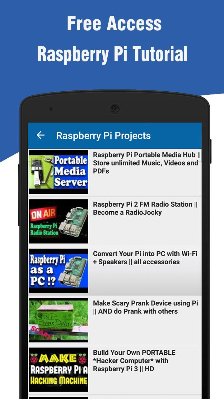 Learn Raspberry Pi for Android - APK Download