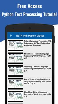 Learn Python Text Processing for Android - APK Download