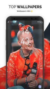 🔥 NEW Jojo Siwa wallpapers  Full HD 4K 2018 🇺🇸 apk screenshot