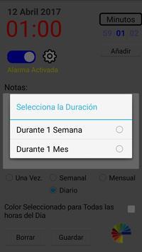 Agenda Diaria screenshot 4
