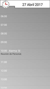 Agenda Diaria screenshot 1