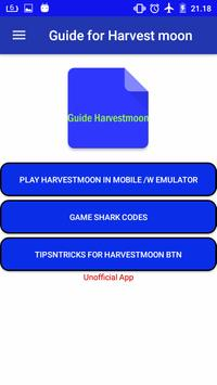 download cheat harvest moon back to nature apk