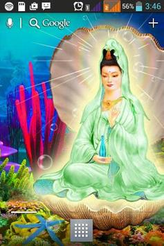 Buddha Avalokitesvara LWP apk screenshot