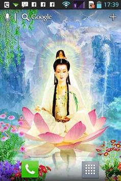 Guanyin Buddha Live Wallpaper Apk Screenshot