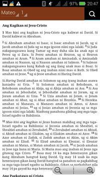 Cebuano Ang Biblia poster