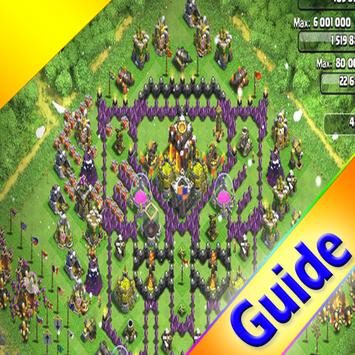 GUIDE PLAY CLASH OF CLANS imagem de tela 1