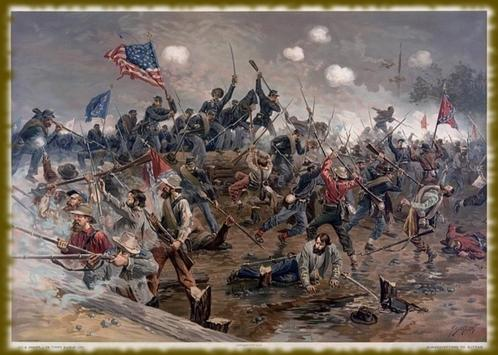 American Civil War wallpaper poster