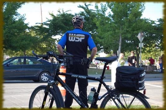 Bicycle Police wallpaper screenshot 1