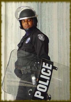 Riot Police wallpaper apk screenshot