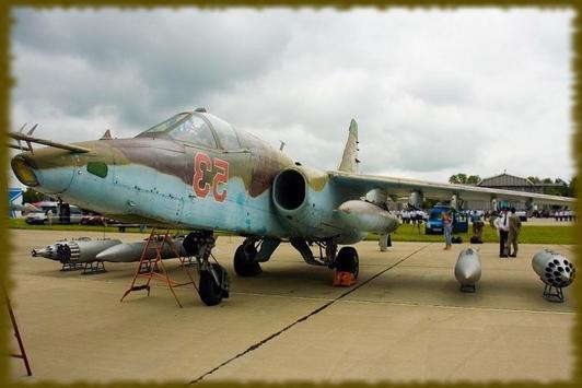 Russian Sukhoi Su25 wallpaper screenshot 2