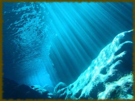 Underwater Caves wallpaper apk screenshot