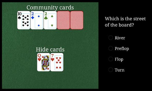 Poker Trainer App apk screenshot