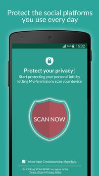 MyPermissions – 個人情報管理アプリ poster