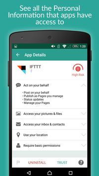 MyPermissions – 個人情報管理アプリ apk screenshot
