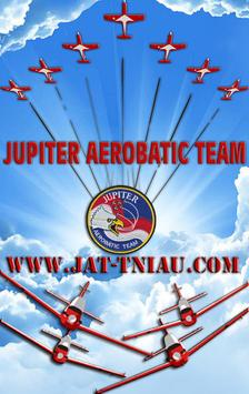 JUPITER AERO BATIC TEAM poster