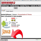 Java on Android icon