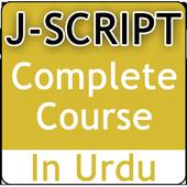 JavaScript Video Tutorial in Urdu icon