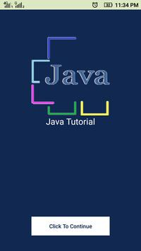 Java Tutorial poster