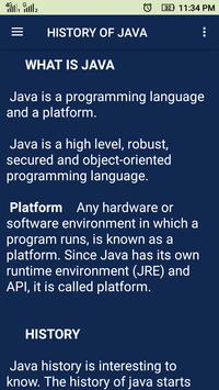 Java Tutorial screenshot 1