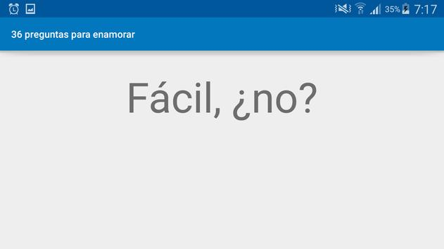 36 preguntas para enamorar apk screenshot
