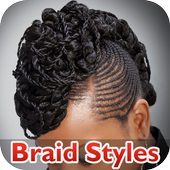Evergreen African Braid Hairstyles icon