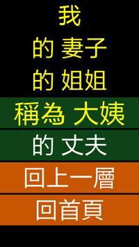 親戚關係 poster