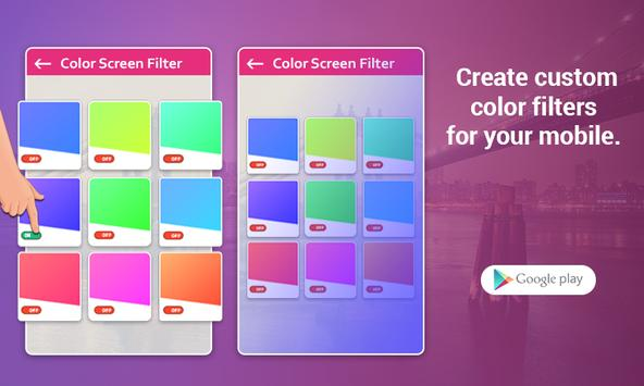 Custom Color Screen Filter poster