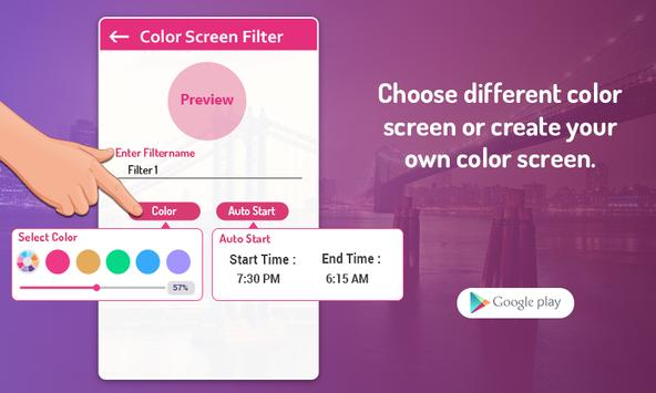 Custom Color Screen Filter screenshot 1