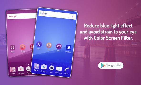 Custom Color Screen Filter screenshot 2
